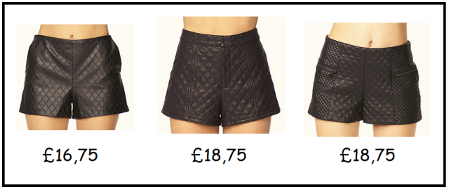 Leather shorts2
